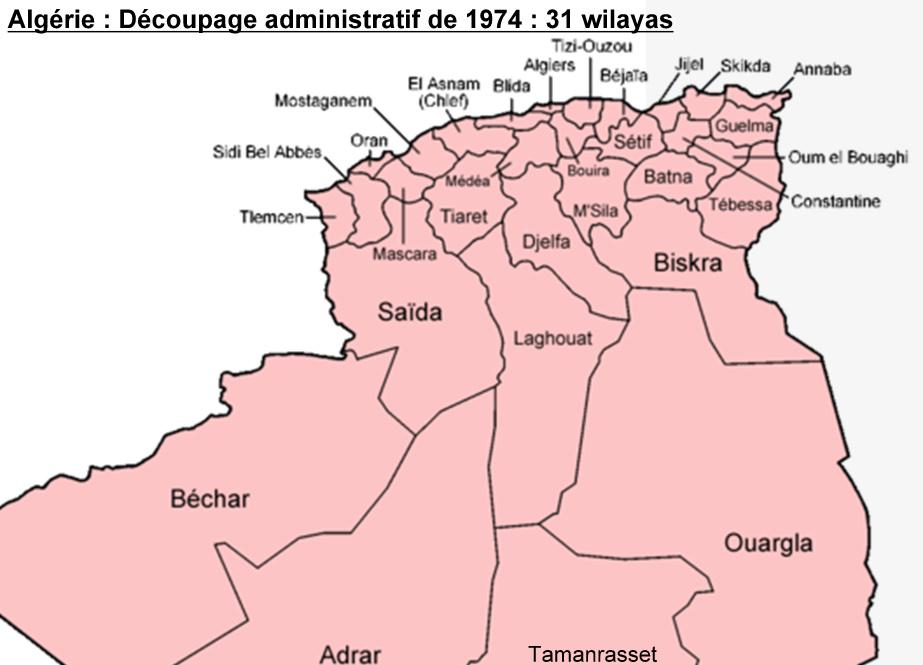 Carte Algerie Wilaya.Cartes De La Wilaya De Tizi Ouzou
